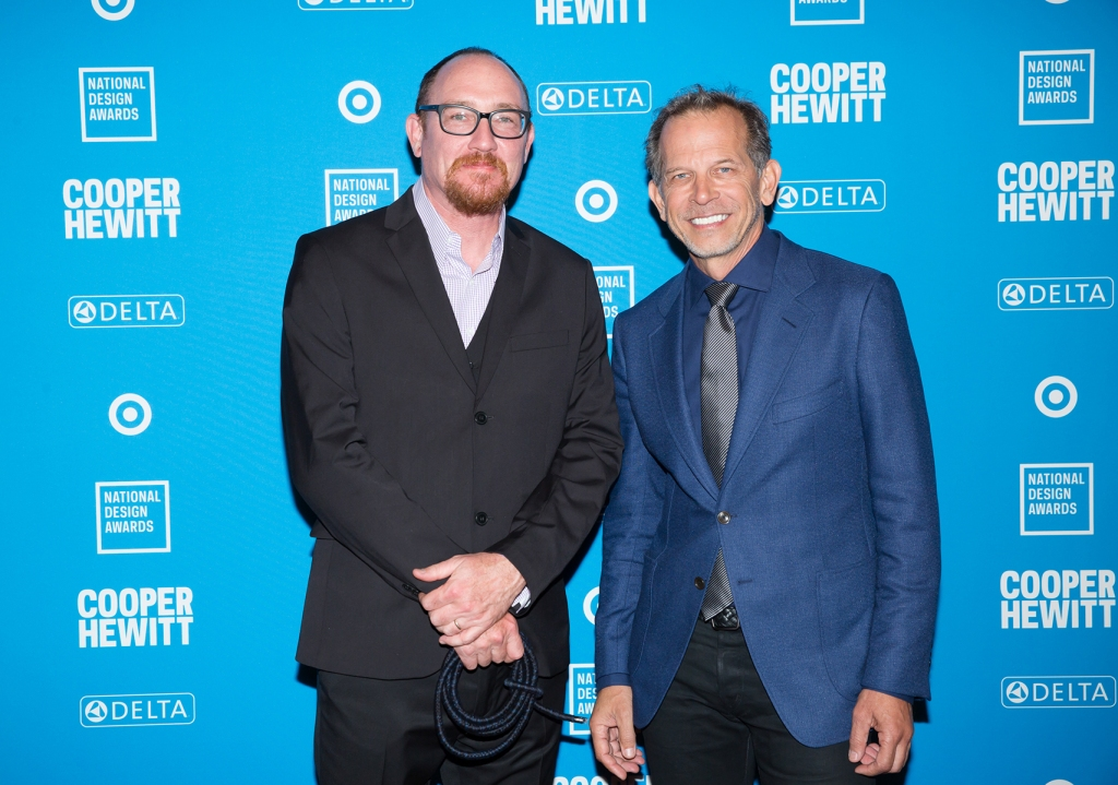 Eric Rodenbeck and Michael Gough at the National Design Awards