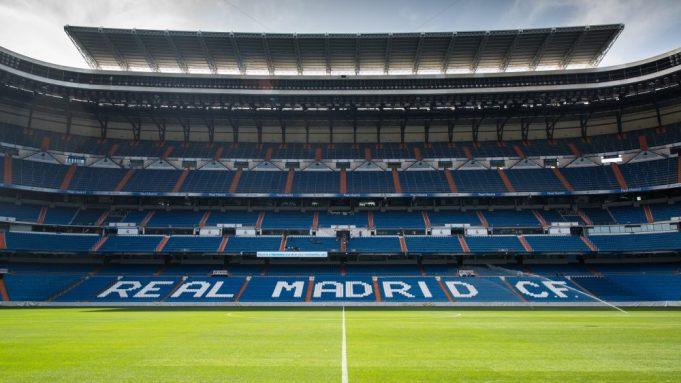 Santiago Bernabeu Stadium Of Real Madrid, Spain. Editorial Photography -  Image of city, champion: 96931392