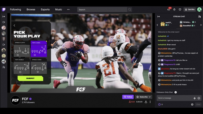 Fan Controlled Football League Screenshot