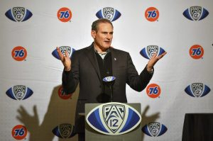 Larry Scott Out as Pac-12 Commissioner as Pandemic Year CapsTenure