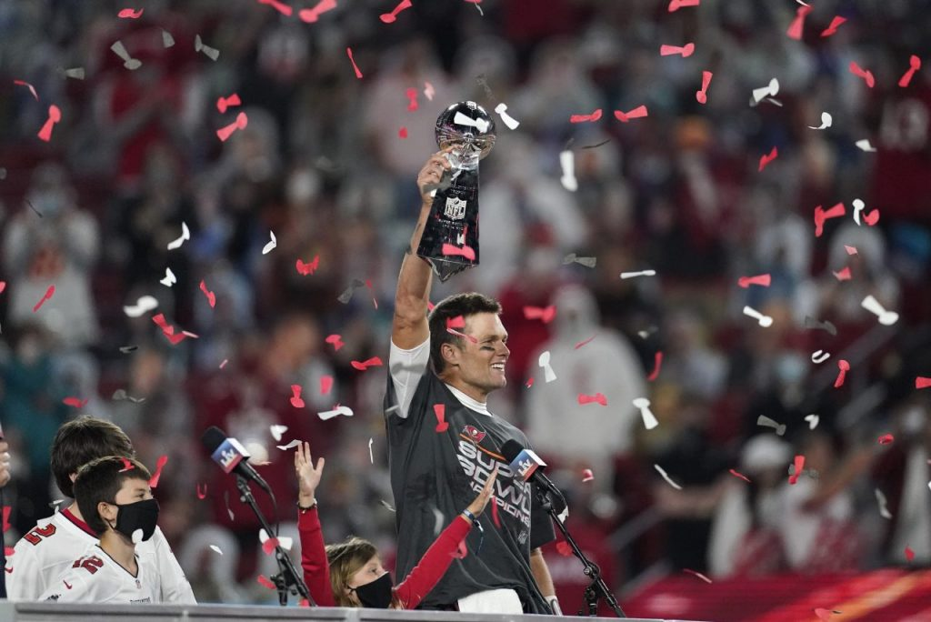 Brady Leads Bucs to Title to Cap NFL's Super Season