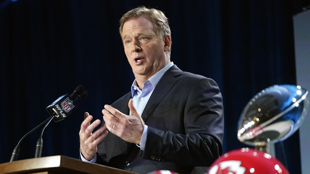 NFL Business Grew Stronger During Pandemic, Commissioner Goodell Says
