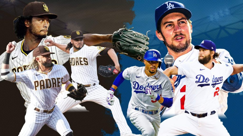 High-Spending Dodgers Still Class of MLB Despite Pressure From Padres