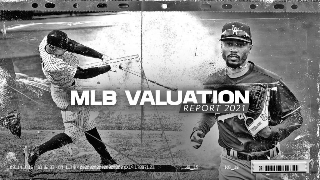 Interactive Data Viz Chart for All 30 MLB Franchise Valuations
