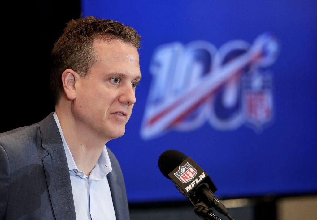 NFL Media Partners Won't Imperil TV Model with a Mad Dash to OTT
