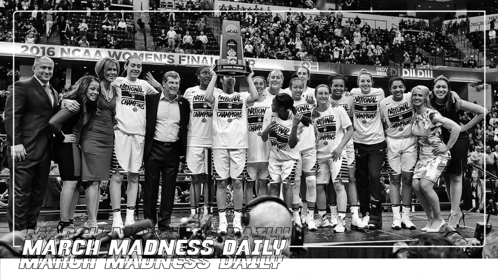 March Madness Daily: Men's vs. Women's NCAA Tournament Money