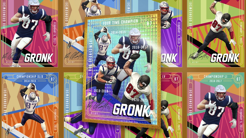 'Gronkchain' Collectibles Go to Auction as TE Joins NFT Market