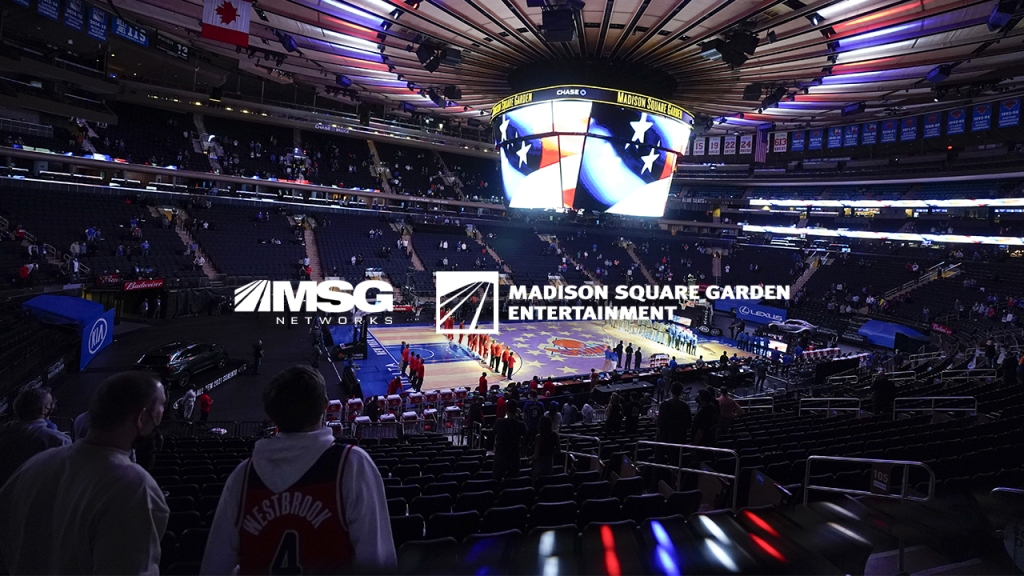 MSG Arranges Discount Buy of TV Network in Sports Betting Play