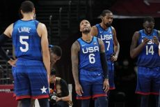Team USA on Edge Despite Roster of High Priced NBAPlayers