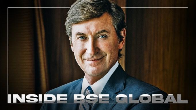 Wayne Gretzky with BSE Global